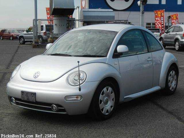 Used 2002 AT Volkswagen New Beetle GH-9CAZJ Image[2]