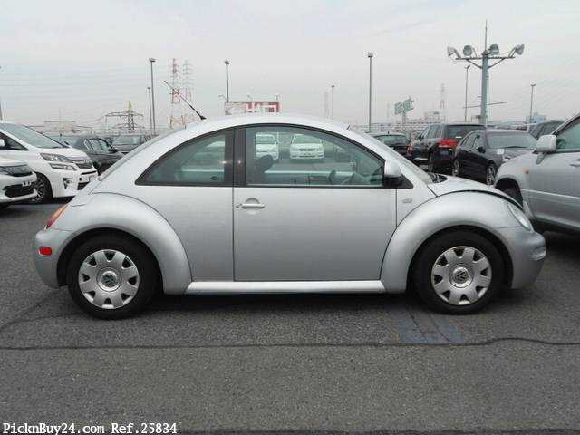 Used 2002 AT Volkswagen New Beetle GH-9CAZJ Image[4]