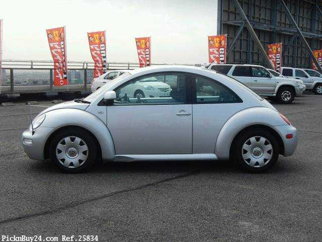 Used 2002 AT Volkswagen New Beetle GH-9CAZJ Image[5]