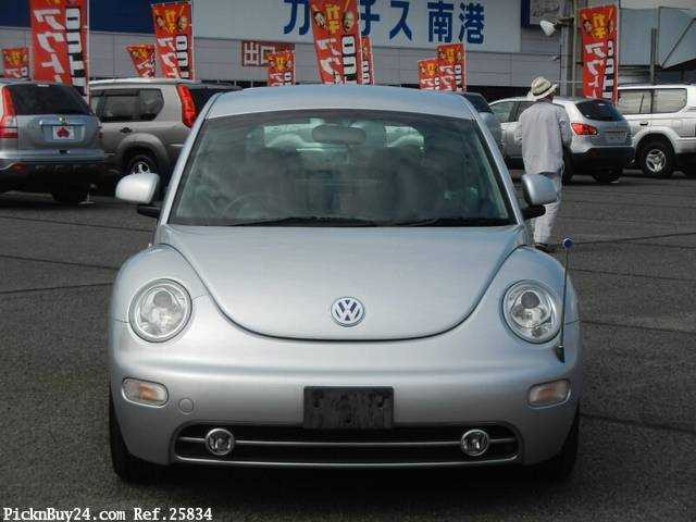 Used 2002 AT Volkswagen New Beetle GH-9CAZJ Image[6]