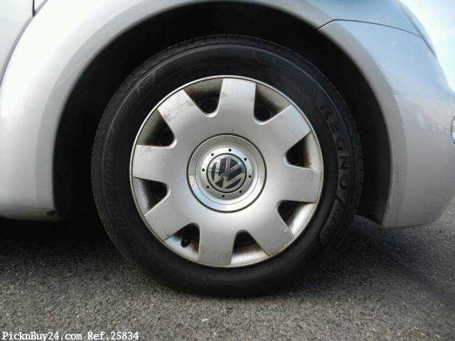 Used 2002 AT Volkswagen New Beetle GH-9CAZJ Image[8]