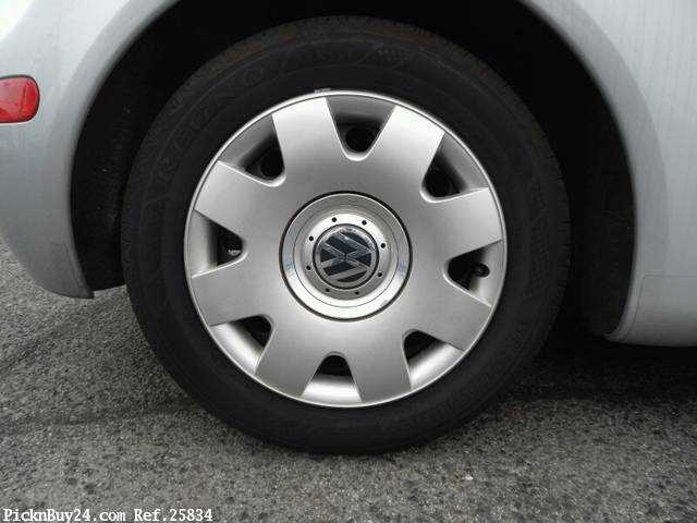 Used 2002 AT Volkswagen New Beetle GH-9CAZJ Image[9]