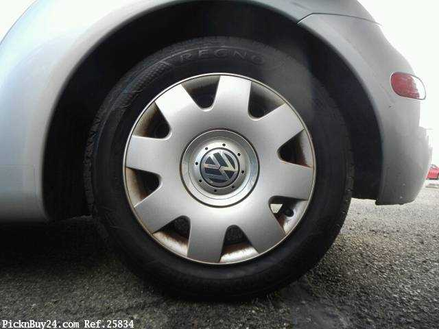 Used 2002 AT Volkswagen New Beetle GH-9CAZJ Image[10]