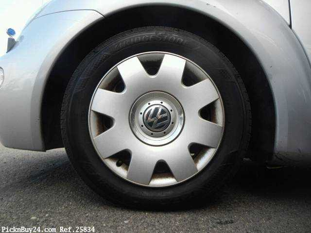 Used 2002 AT Volkswagen New Beetle GH-9CAZJ Image[11]
