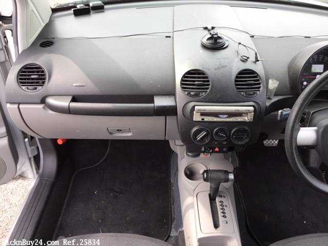 Used 2002 AT Volkswagen New Beetle GH-9CAZJ Image[17]