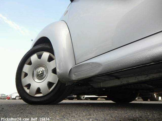 Used 2002 AT Volkswagen New Beetle GH-9CAZJ Image[25]