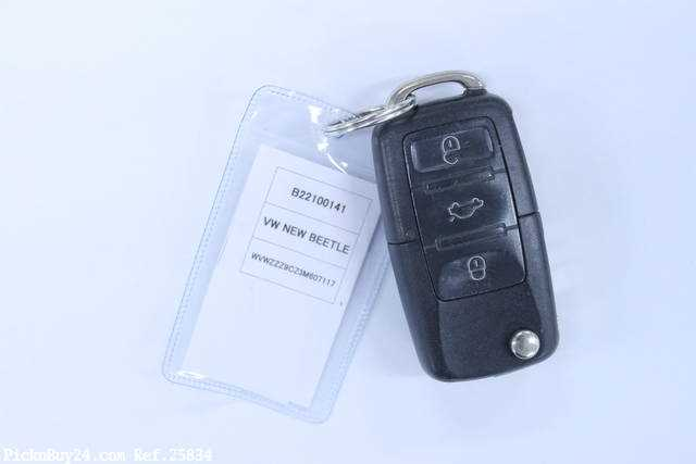 Used 2002 AT Volkswagen New Beetle GH-9CAZJ Image[26]