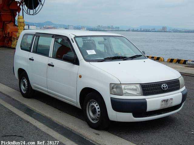 Used 2007 MT Toyota Probox Van CBE-NCP50V