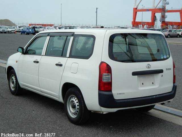 Used 2007 MT Toyota Probox Van CBE-NCP50V Image[1]