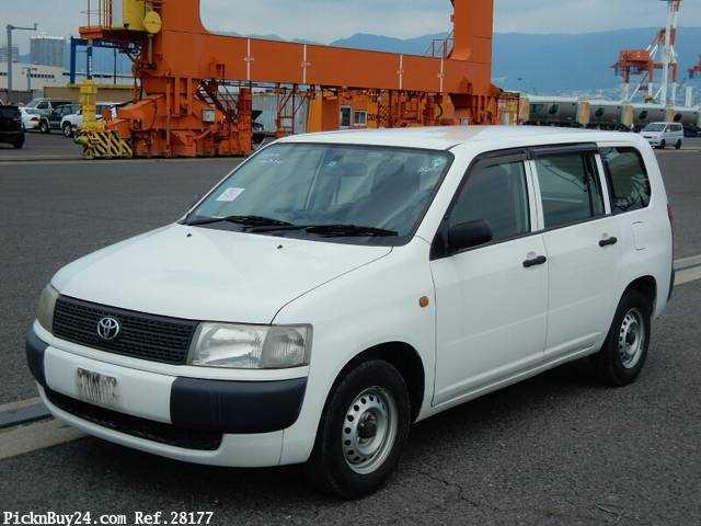 Used 2007 MT Toyota Probox Van CBE-NCP50V Image[2]