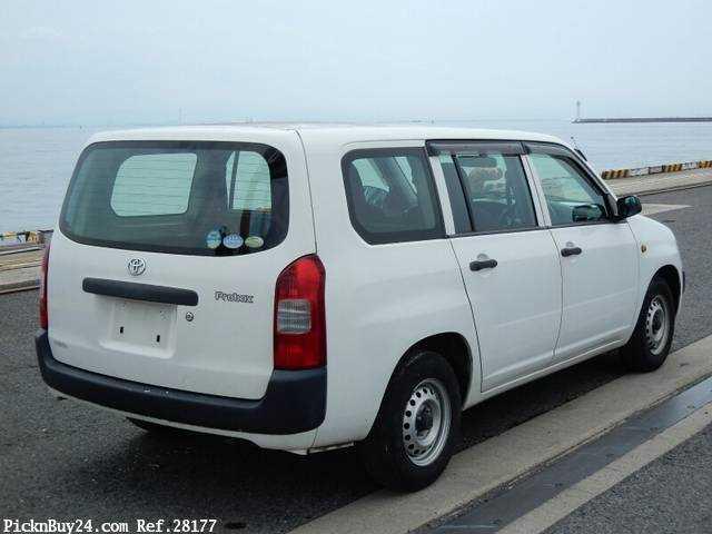 Used 2007 MT Toyota Probox Van CBE-NCP50V Image[3]