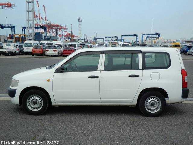 Used 2007 MT Toyota Probox Van CBE-NCP50V Image[5]