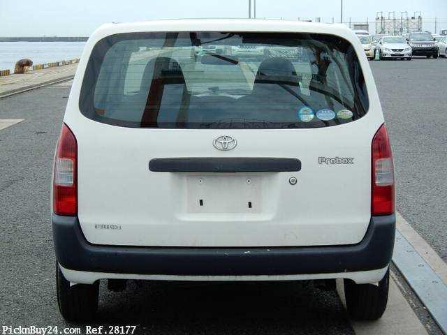 Used 2007 MT Toyota Probox Van CBE-NCP50V Image[7]