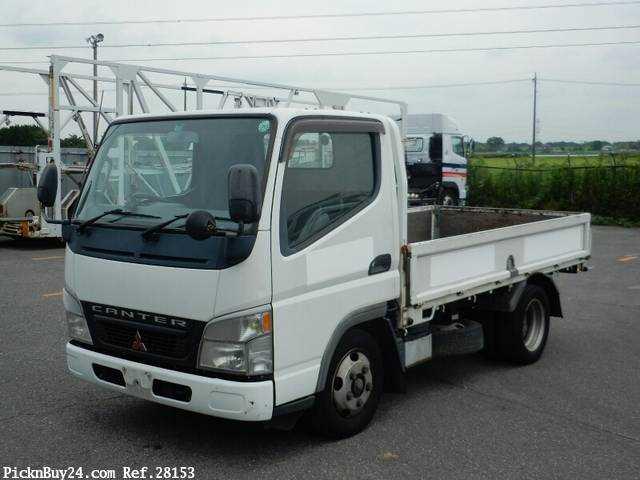 Used 2004 MT Mitsubishi Canter KK-FE70EB Image[2]