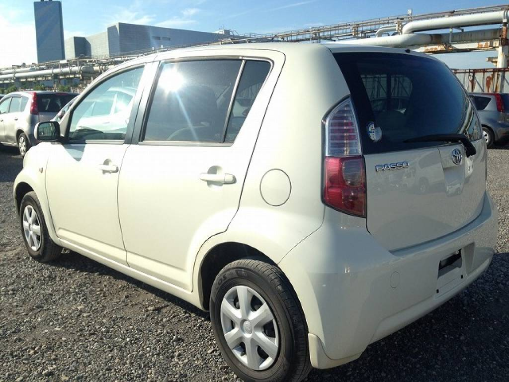 Used 2008 AT Toyota Passo KGC10 Image[4]