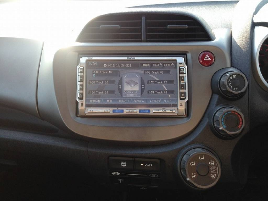 Used 2008 AT Honda Fit GE6 Image[12]