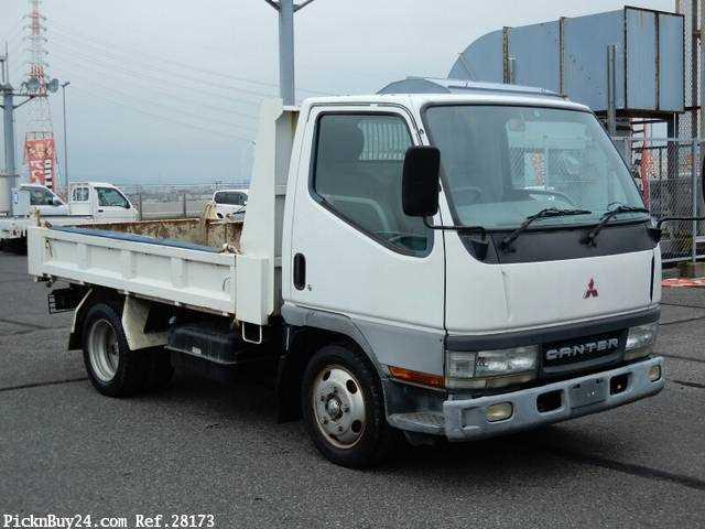 Used 2001 MT Mitsubishi Canter KK-FE51CBD
