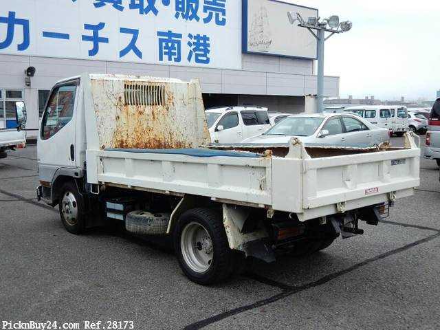 Used 2001 MT Mitsubishi Canter KK-FE51CBD Image[1]