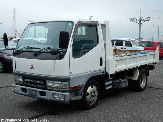 Used 2001 MT Mitsubishi Canter KK-FE51CBD Image[2]