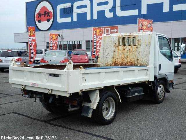 Used 2001 MT Mitsubishi Canter KK-FE51CBD Image[3]