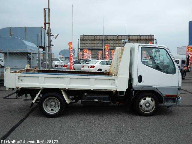 Used 2001 MT Mitsubishi Canter KK-FE51CBD Image[4]