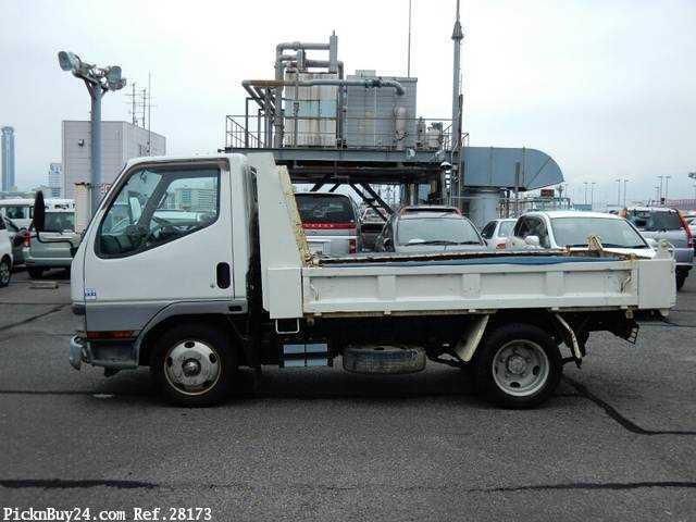 Used 2001 MT Mitsubishi Canter KK-FE51CBD Image[5]