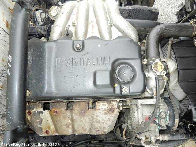 Used 2001 MT Mitsubishi Canter KK-FE51CBD Image[21]