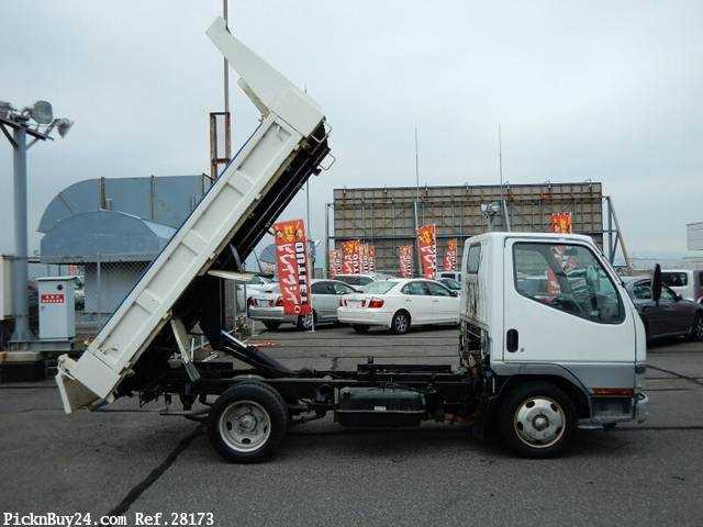 Used 2001 MT Mitsubishi Canter KK-FE51CBD Image[25]