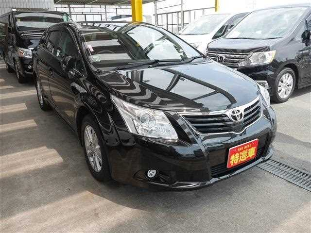 Used 2012 AT Toyota Avensis DBA-ZRT272W Image[3]