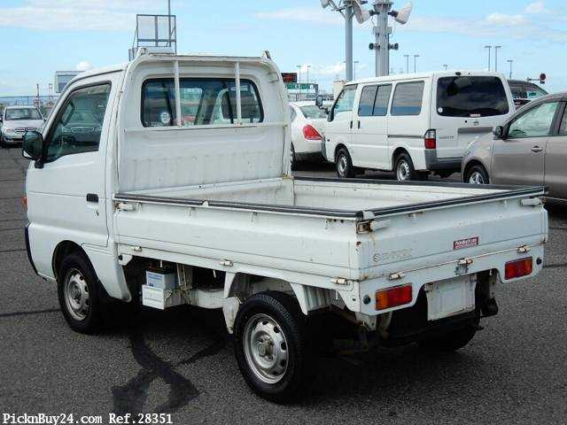Used 1995 AT Suzuki Carry Truck V-DC51T Image[1]