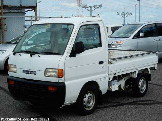 Used 1995 AT Suzuki Carry Truck V-DC51T Image[2]