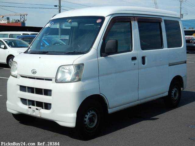 Used 2007 MT Daihatsu Hijet Cargo LE-S320V Image[2]