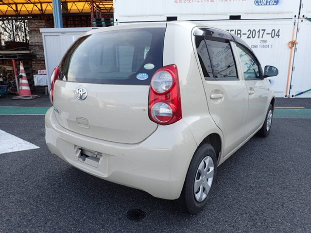 Used 2010 AT Toyota Passo KGC30 Image[2]