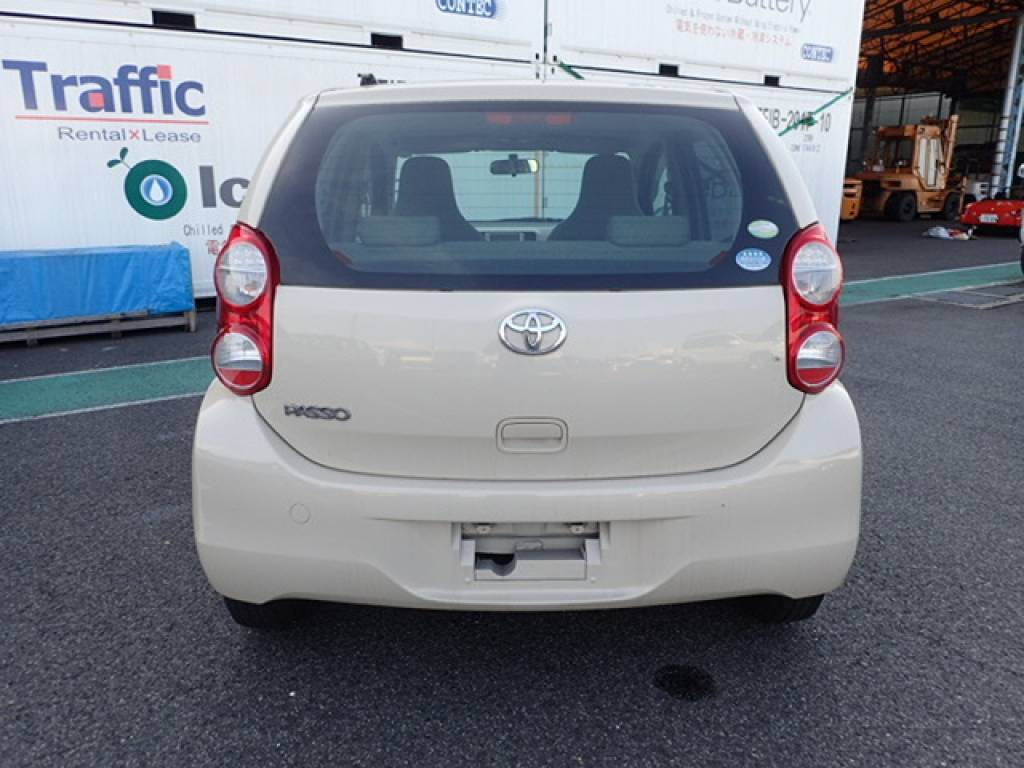 Used 2010 AT Toyota Passo KGC30 Image[7]