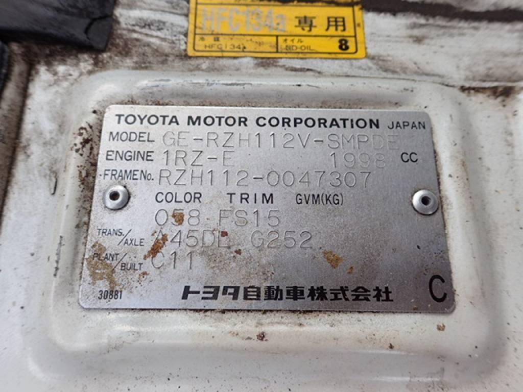 Used 1998 AT Toyota Hiace Van RZH112V Image[42]
