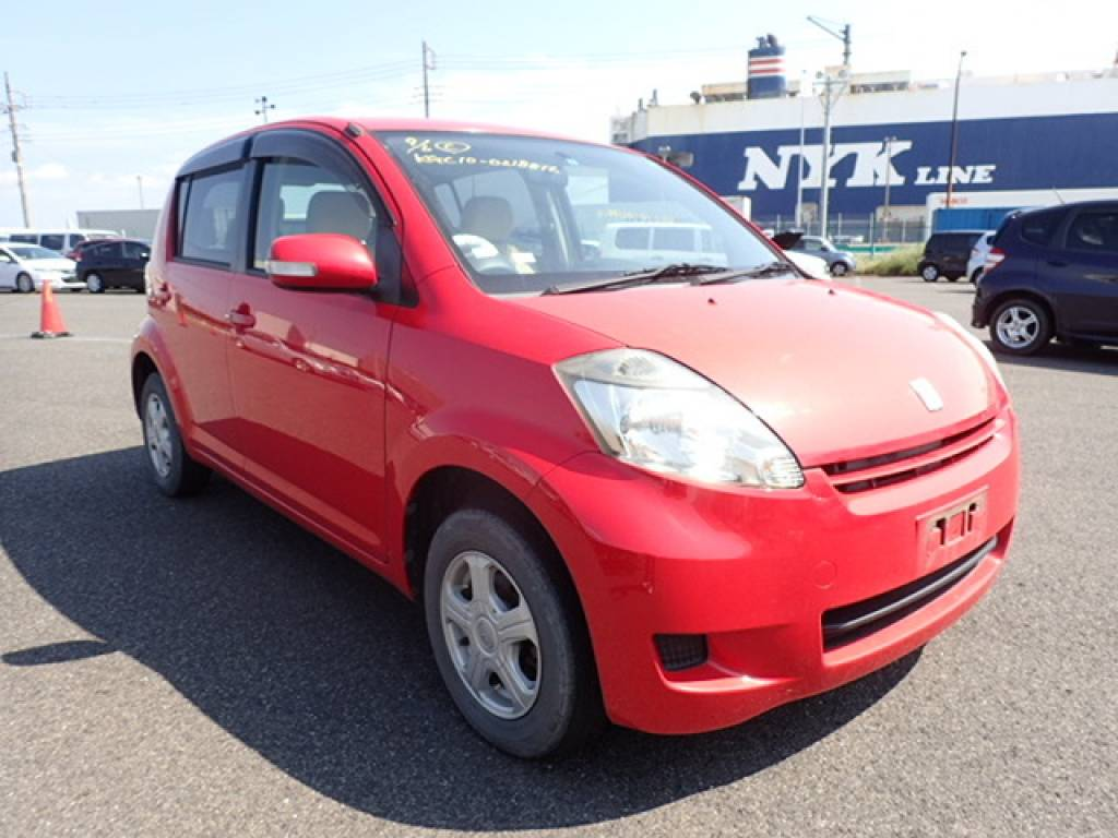 Used 2008 AT Toyota Passo KGC10 Image[1]