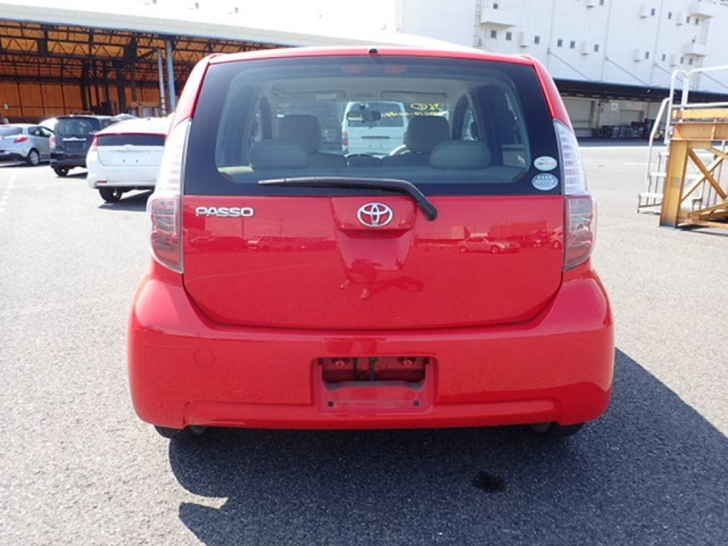 Used 2008 AT Toyota Passo KGC10 Image[5]