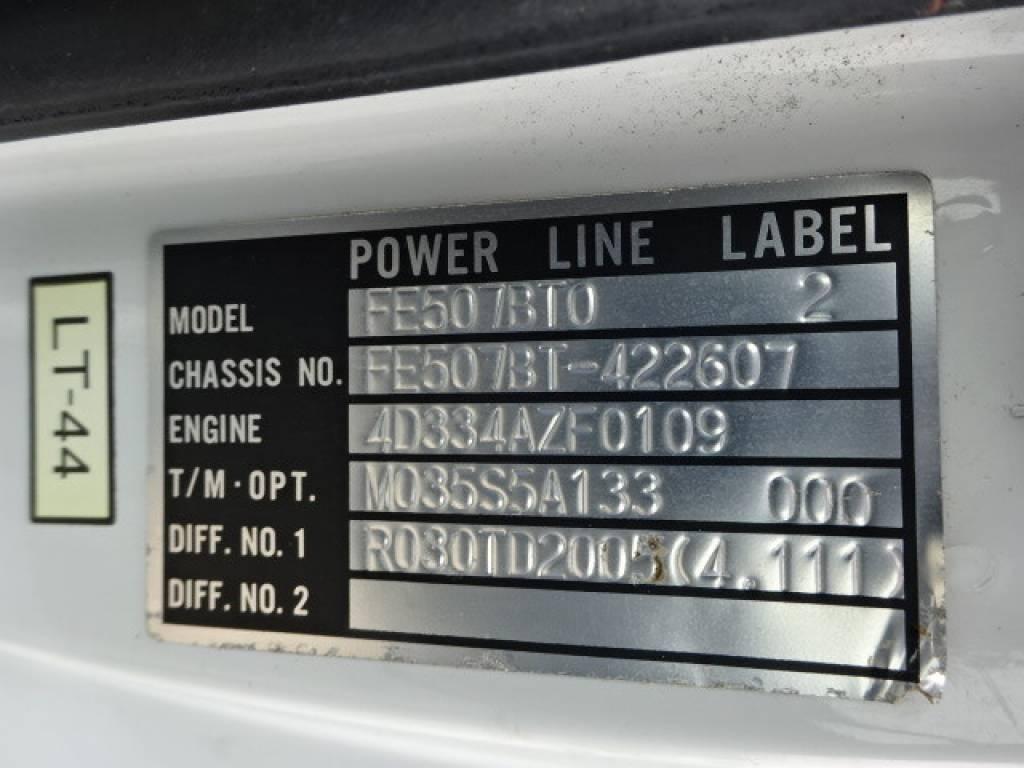 Used 1997 MT Mitsubishi Canter FE507BT Image[28]