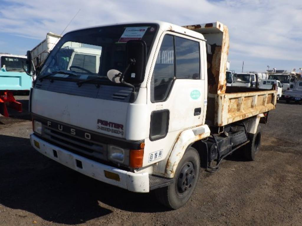 Used 1990 MT Mitsubishi Fuso Fighter FK337CD Image[1]