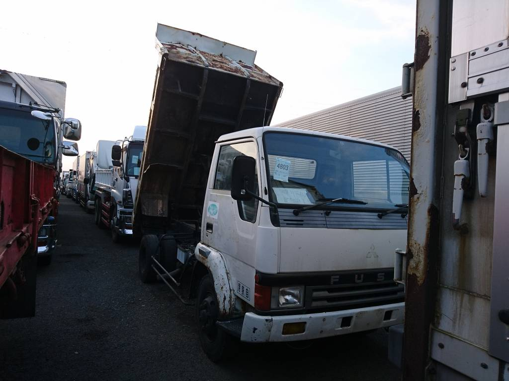 Used 1990 MT Mitsubishi Fuso Fighter FK337CD Image[7]
