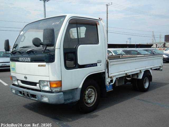 Used 1998 AT Nissan Atlas KG-SR4F23 Image[2]