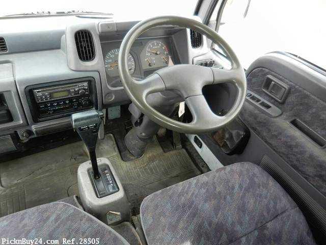 Used 1998 AT Nissan Atlas KG-SR4F23 Image[16]