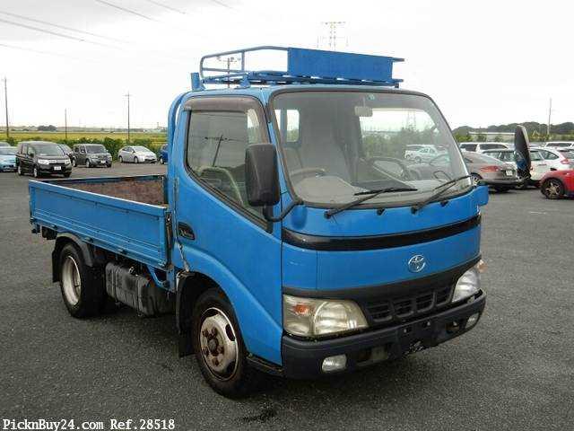 Used 2003 MT Toyota Dyna Truck KK-XZU301