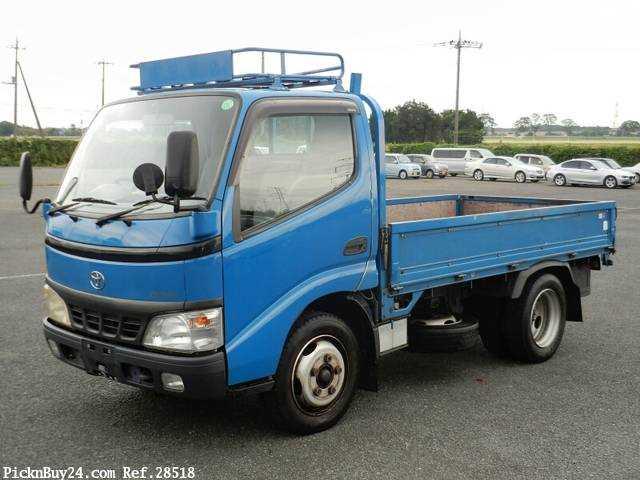 Used 2003 MT Toyota Dyna Truck KK-XZU301 Image[2]
