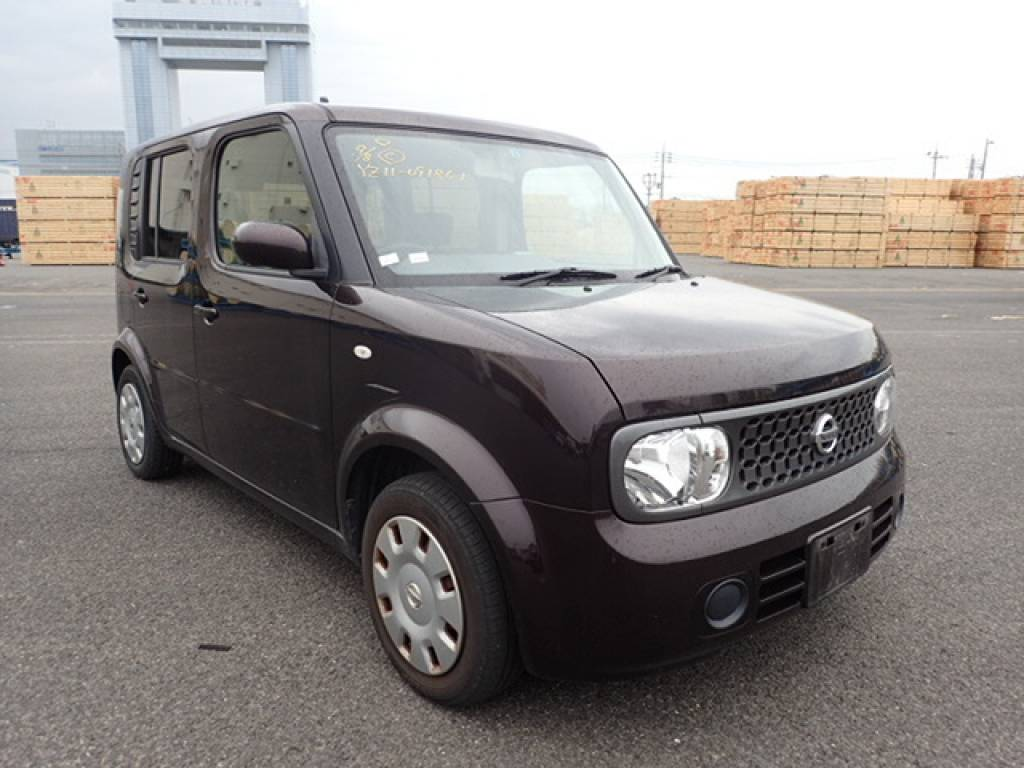 Used 2008 AT Nissan Cube YZ11 Image[1]