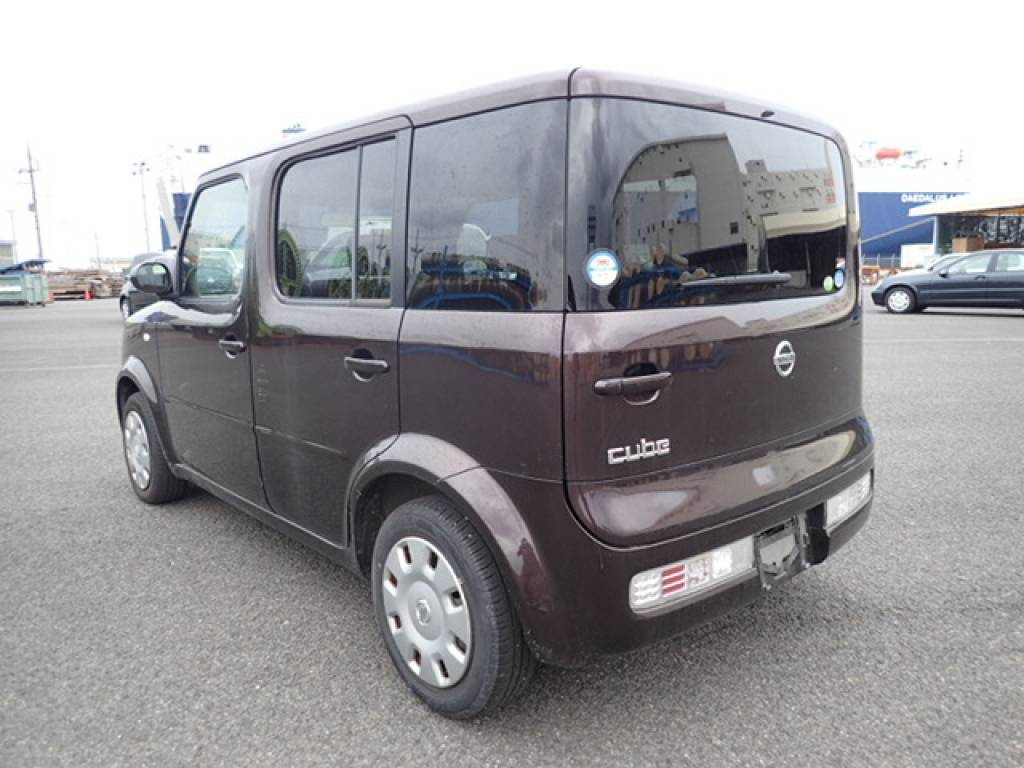 Used 2008 AT Nissan Cube YZ11 Image[4]