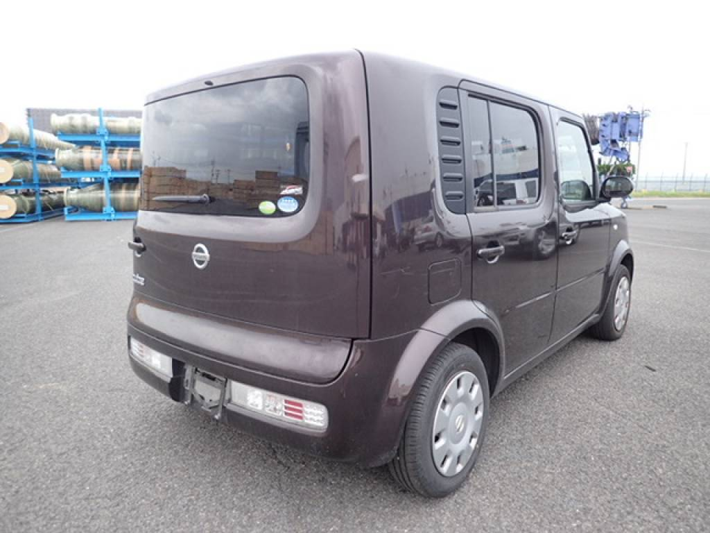 Used 2008 AT Nissan Cube YZ11 Image[6]