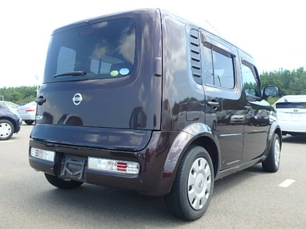Used 2008 AT Nissan Cube YZ11 Image[2]