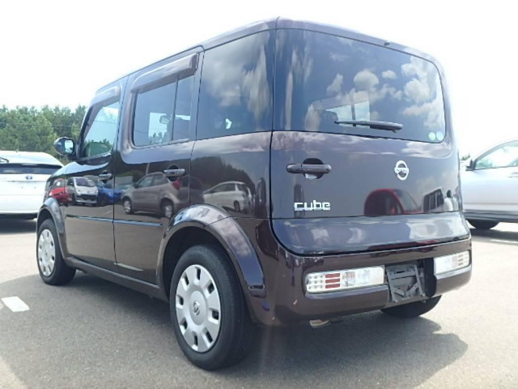 Used 2008 AT Nissan Cube YZ11 Image[3]