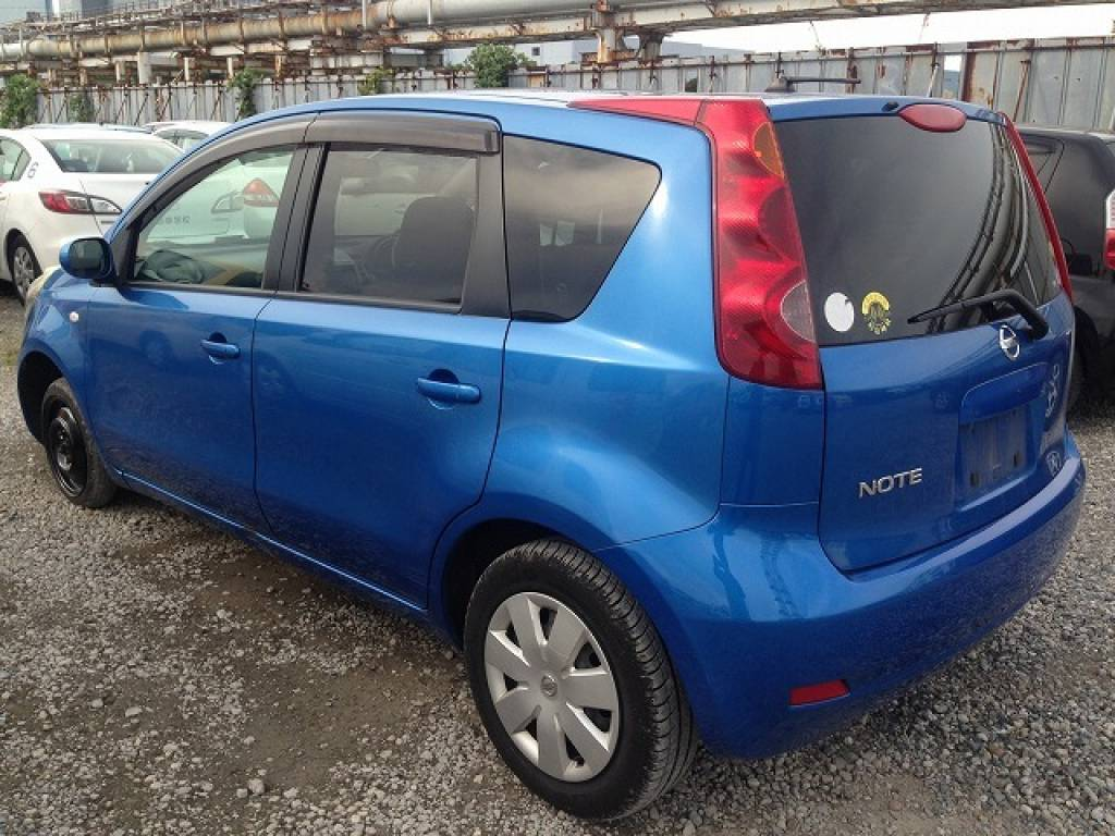 Used 2008 AT Nissan Note E11 Image[3]